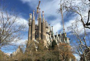 Sagrada Familia Barcelona. Foto Daniel van Capelleveen