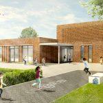SVP architectuur en stedenbouw ontwerpt school de bijenkorf Wageningen