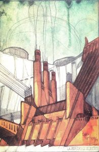 Antonio Sant'Elia, Elektriciteitscentrale, 1914