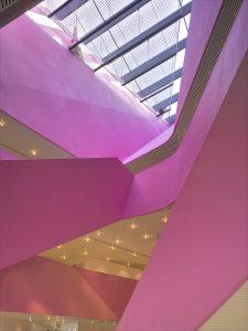 UN Studio, Foyer Agoratheater te Lelystad. Foto Christian Richters