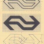 50 jaar NS design Logo tekening