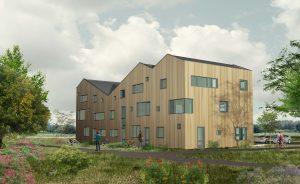 Vijf woningen CPO Nijmegen. Architect: MAATworks. Advies en realisatie: ECO + BOUW