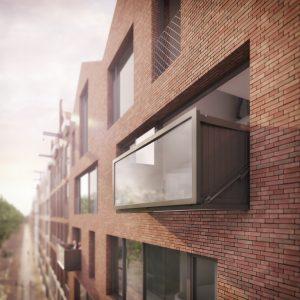 Het Bloomframe® window is het eerste analoge voorbeeld van wat responsive architecture voor een gebouw kan zijn.
