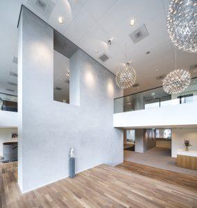 Interieur hoofdkantoor Egon Zehnder Amsterdam, architect: Fokkema & Partners.