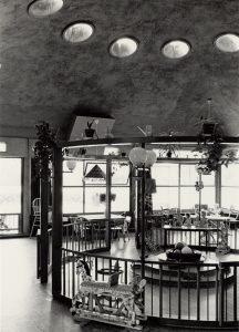 Speelzaal in het Burgerweeshuis, 1968 • Foto G L W Oppenheim