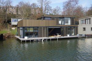 Woonboot AD. Foto: Hoogte Twee Architecten