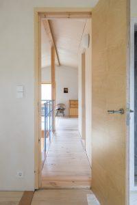 De verdieping is grotendeels een open ruimte. Foto Jan Mateboer