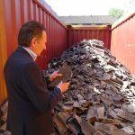 BRBS voorzitter Ton van der Giessen Convenant betonnen dakpannen