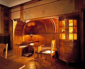 G.W. Dijsselhof: kamer voor dr W van Hoorn._Foto Gemeentemuseum