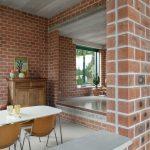 Interieur Atlas Huis Brick Award voor Atlas Huis van Monadnock