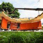 Slim huis gebouwd door studenten TU Eindhove