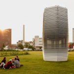 smogtower M4H gebied Rotterdam