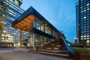 Paviljoen Circl ABN AMRO  Ontwerp van de Architekten Cie
