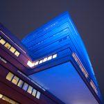 Stadhuis Wet Blue lichtplan voor Waalwijk