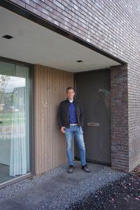 Architect Koen Arts ontwierp zijn eigen woning in Elst.
