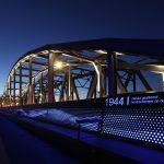 brug verlicht Transformatie Oude IJsselbrug Zutphen
