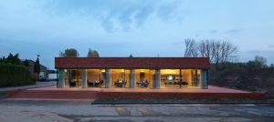 15. Ontvangstpaviljoen Steenfabriek Vogelensangh in Deest ontwerp Bedaux de Brouwer Architecten. Foto: Michel Kievits