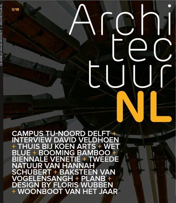 cover ArchitectuurNL 3 2018