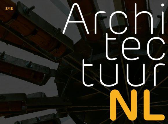 ArchitectuurNL 3 2018