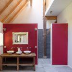 Badkamer Transformatie schuur tot woonhuis