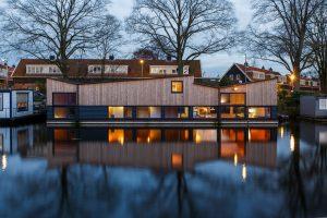 Woonark De Wave is een ontwerp van Attika architecten.