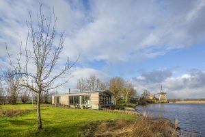 Publiekslieveling was woonark De Barn, een ontwerp van architect Bob Ronday