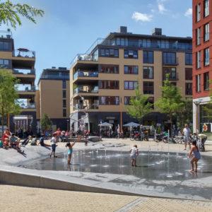 Brusselplein, ontwerp openbare ruimte Lodewijk Baljon landschapsarchitecten