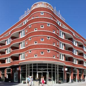 Hoek Luxemburg- en Wenenpromenade, dok architecten.