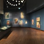 Van Gogh Museum, 'Prints in Paris Lichtkunst henk van der geest