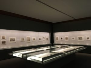 Teylers Museum Haarlem, wandvitrines prentenkabinet 2017