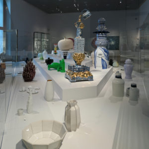 Keramiekmuseum Princessehof Leeuwarden, tijdelijke tentoonstelling 'Made in Holland' 2018.