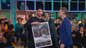 Dave Hakkens wint VPRO Toekomst Bouwdepot 2017