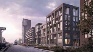 Lloyd pier Rotterdam. ArchitectuurMAKEN