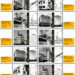 Nieuwe Bouwen centraal op postzegels