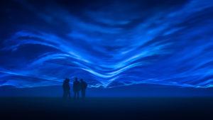 Waterlicht Daan Roosegaarde