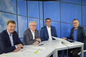 Sprekers webinar: Bert Schlüter, Carl-peter Goossen, Mark Kooijman, Henk Wind