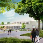 Entree Atelier PRO ontwerpt Strabecht College Geldrop