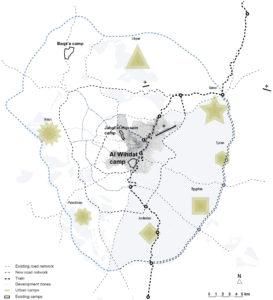 Amman met vluchtelingenkampen