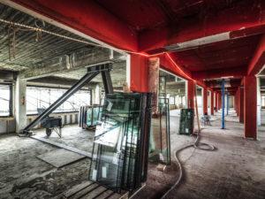 Wibaut wordt floor aan de Wibautstraat Amsterdam. Opdrachtgever Boelens de Gruyter