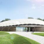 Shaded Dome nieuw onderkomen Nationaal Bevrijdingsmuseum
