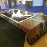 Solar bench op Rambla
