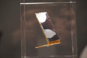 zonnecel van de Hubble, Space Waste Lab Roosegaarde_Foto Jacqueline Knudsen