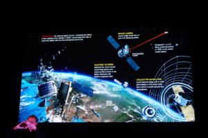 Oplossingen van ESA/Estec voor Space Waste. Foto Jacqueline Knudsen