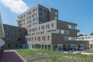 Verzorgingshuis en appartementen De Kaap Hoogeveen, 2017, architect AAS