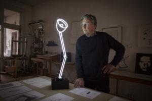 Jeroen Henneman met One lamp