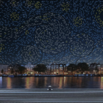 Amsterdam Light festival Starry Night_Ivana Jelić en Pavle Petrović_artist impression