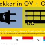 e stekker in ov en openbare ruimte Haarlem