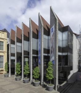 Stadhuis Zwolle. In 2018 verbouwd naar ontwerp van Team 4 architecten
