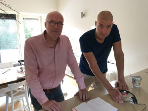 Toine Schoutens en Maarten van der Weijden van FluxPlu