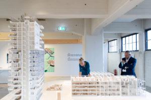 IABR 2018: Civic formuleerde 45 uitgangpunten voor een duurzame relatie tussen architectuur en energie. Deze werden geconcretiseerd in ontwerpen, zoals een collectief woongebouw • Foto Aad Hoogendoorn.